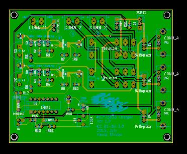 【チャージャー3号制作記】PCB基板を作成してみた
