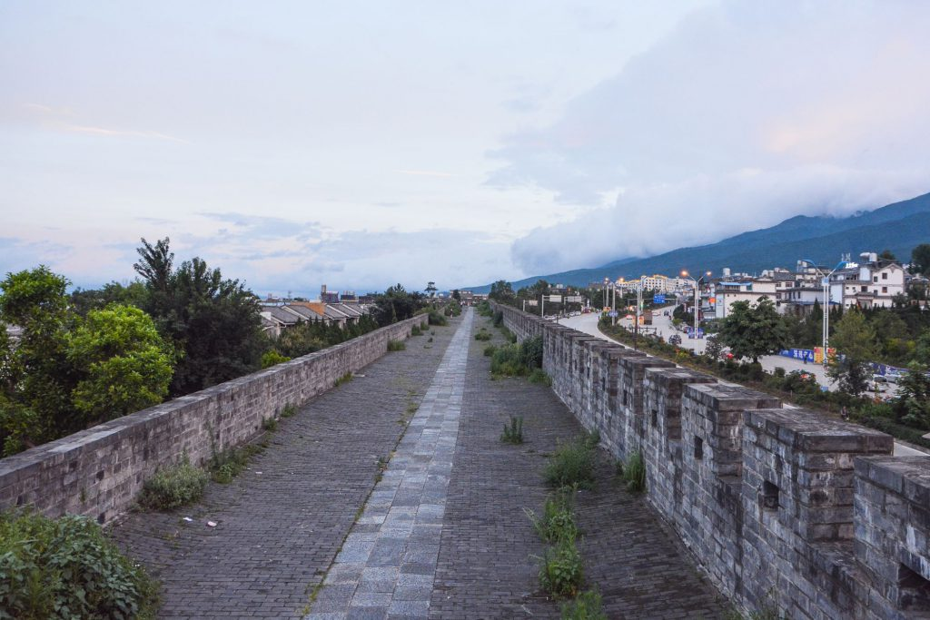 大理古城の城壁